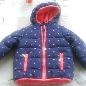 Carter's girl 24 month puffer coat